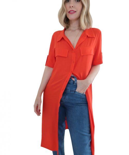 CAM 1004 - Maxi Camisa Color